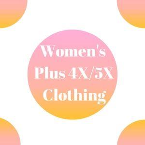 Plus Size 4X/5X
